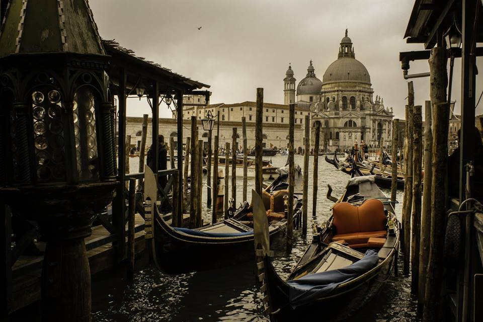 Cold morning in Venice