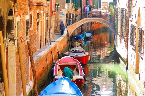 Canals of Venice by Lucia Facco