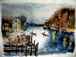 Venice art of the Grand Canal