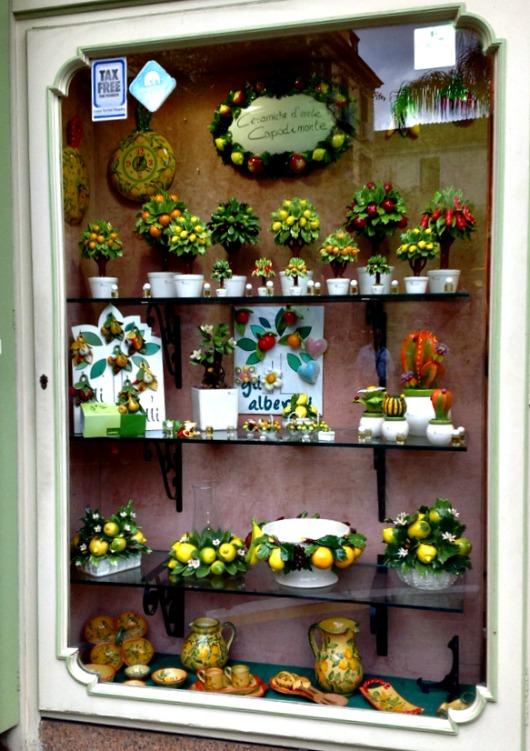Amalfi Coast Lemon Shop