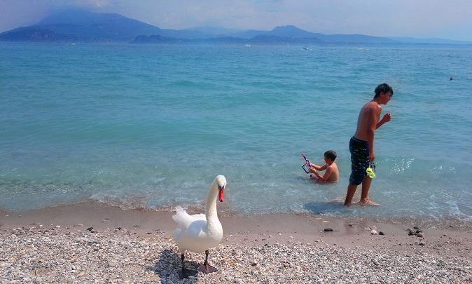 Beaches on Lake garda - Sirmione