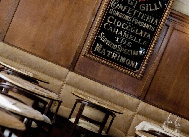 Caffé menu Florence