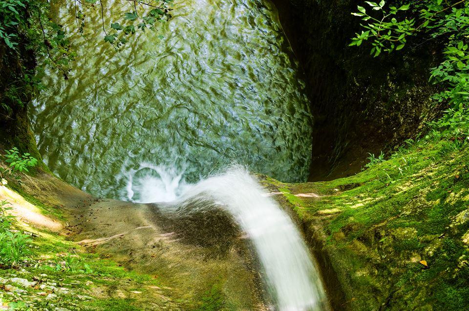 Waterfall Lake Garda by Anja Harreman Hokke