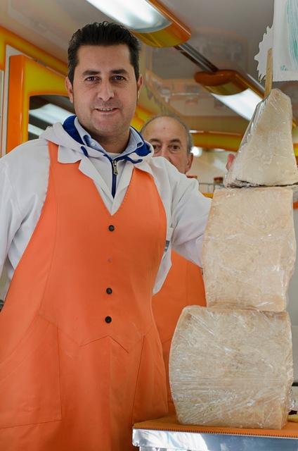 Cheese Market Italy