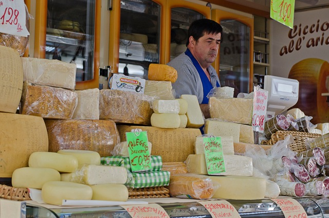 Cheese Market in Orvieto