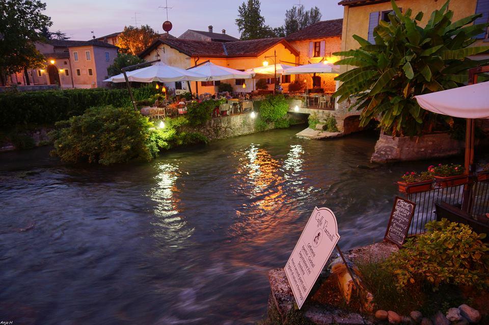 Borghetto of an evening