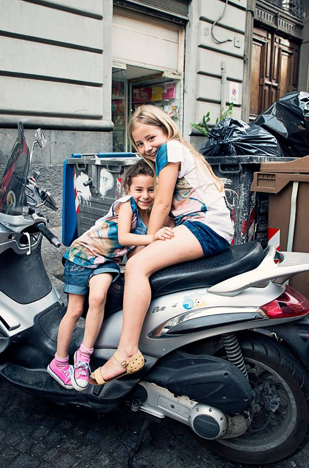 Girls on a Vespa