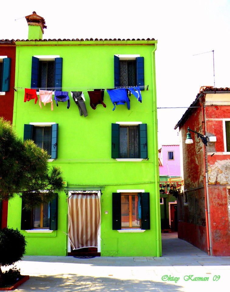 Burano Colored Houses
