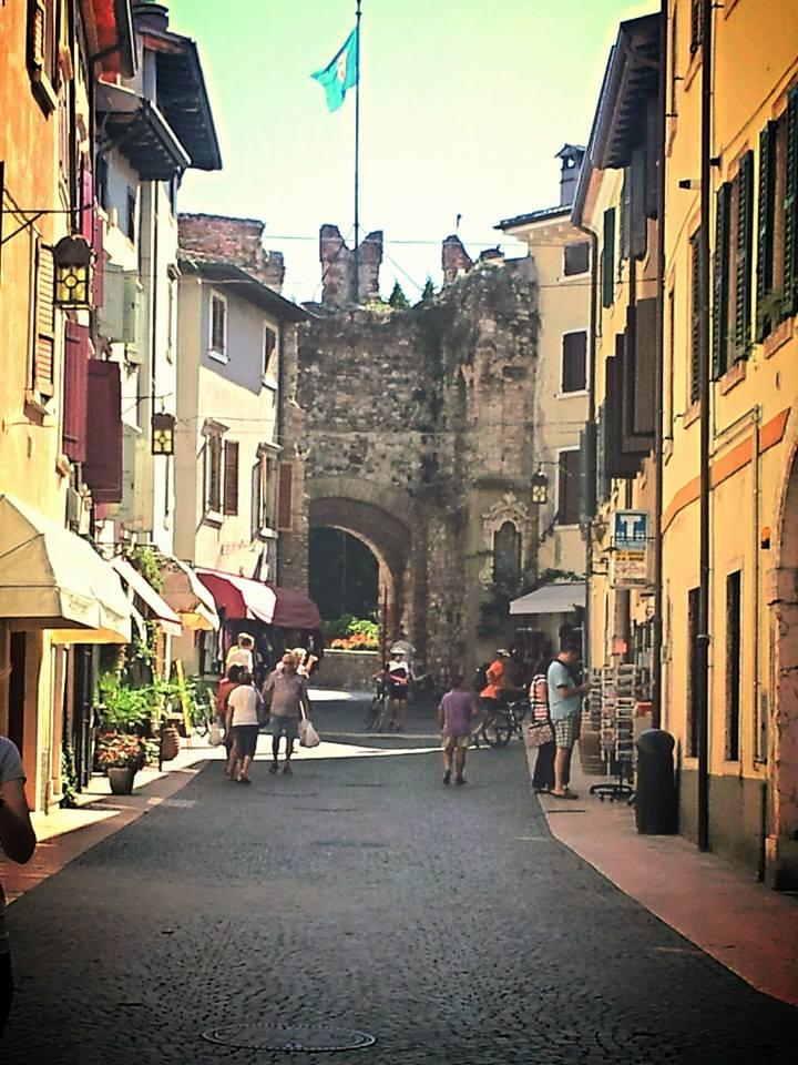 streets in Lazise Lake Garda