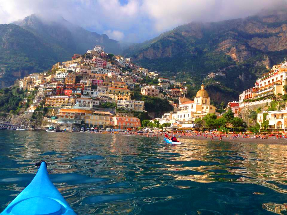 Spiaggia Grande Positano courtesy of Windsurf Praiano