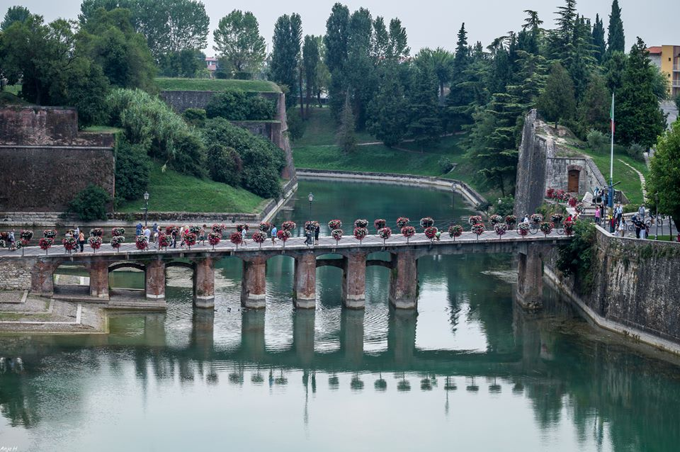 Bridge in Peschiera del Garda
