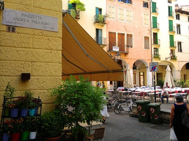 Piazzetta Andrea Palladio - Vicenza