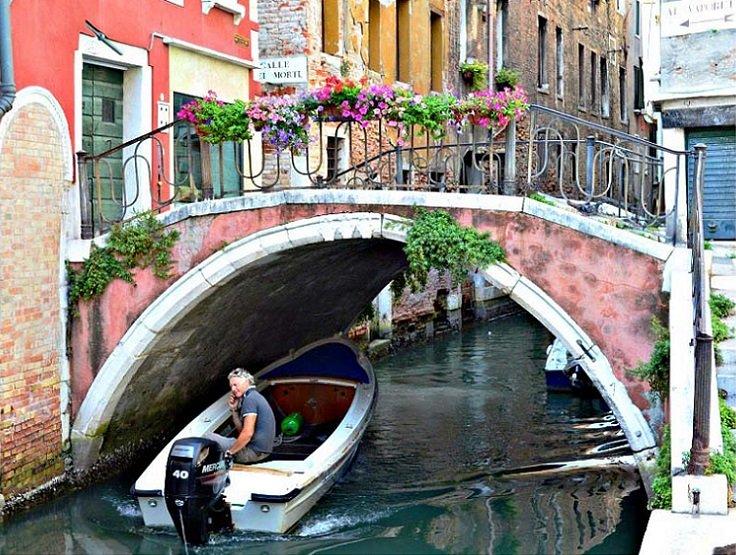Venice - away from the crowds.
