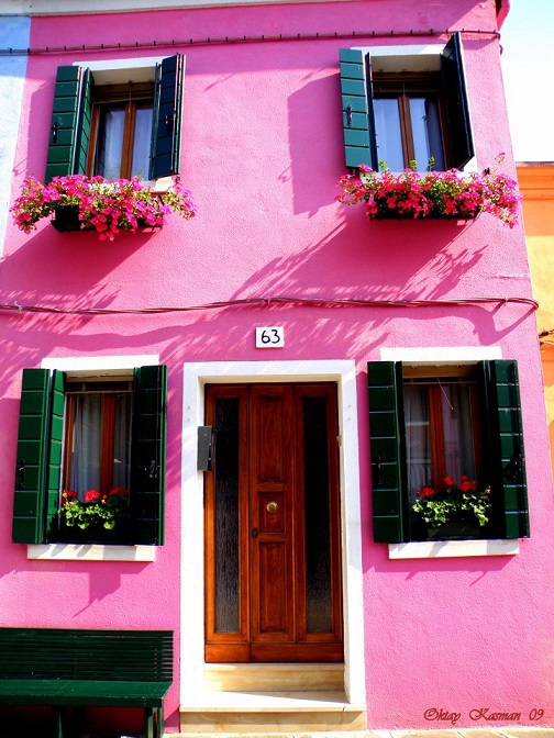 House in Burano Italy