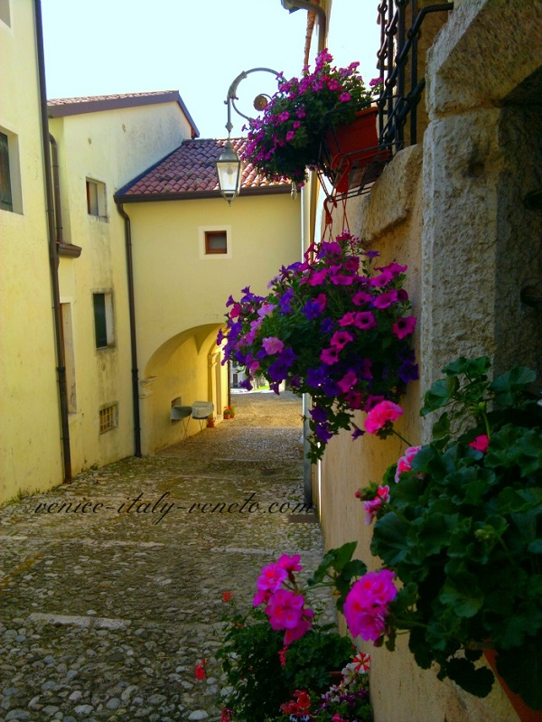 Village in Italy