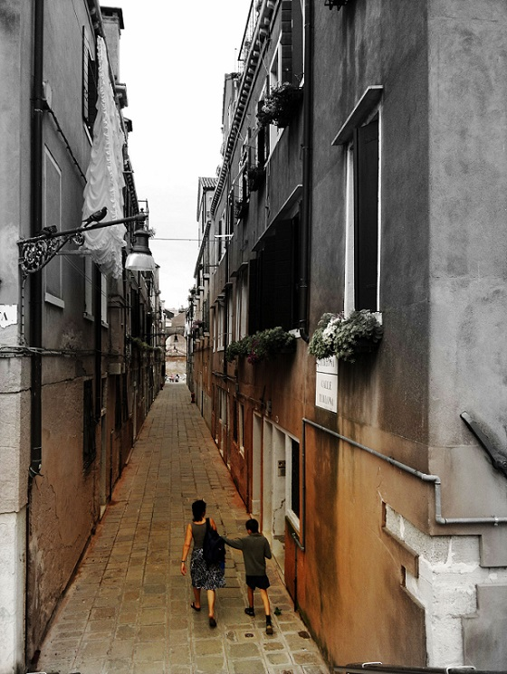 Streets Venice Italy