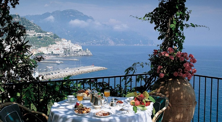 Amalfi Coast - View from the Hotel Santa Caterina