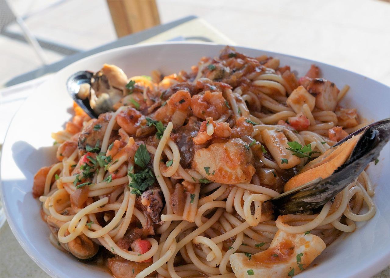 Spaghetti al Limoncello