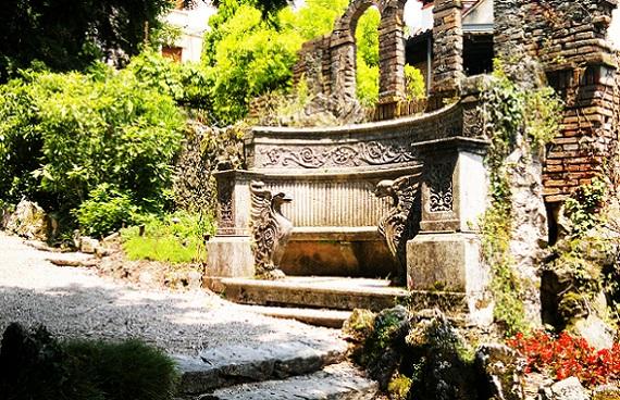 The old park in Santorso