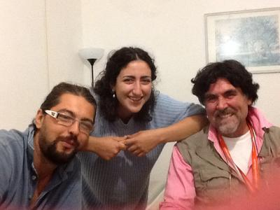 My wonderful italian friends!