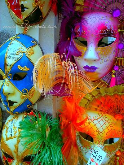 Carnival Masks from Venice