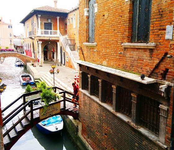Venetian Life from a window