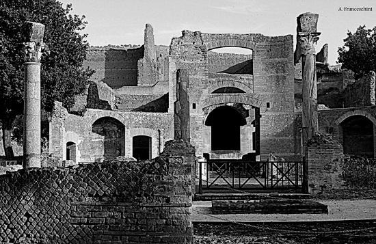 Black and white of Tivoli