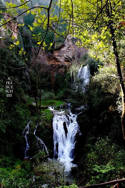Waterfall in the Tivoli Gardens