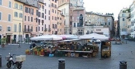 Walking tours in Rome at the Market