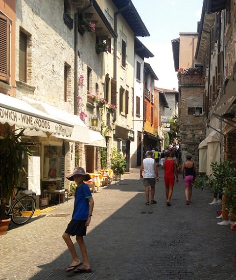 Boy in Sirmione Garda